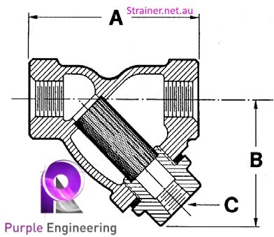 Stainless Steel y strainer, y strainer