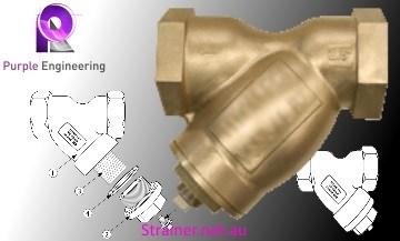 Aluminum Bronze Y Strainer, Aluminum Bronze Y Strainer Au, Aluminum Bronze Y Strainer Australia