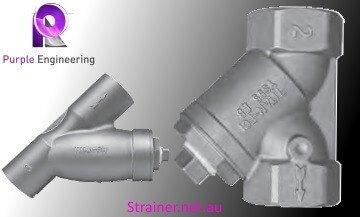 Eco Brass Y Strainer, Brass Y Strainer Au, Eco Brass Y Strainer Australia, B505-08 Y Strainer Australia