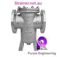 stainless steel simplex strainer, simplex basket strainer