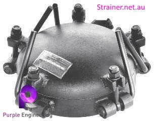 T strainer cover, t strainer openning, tool less opening