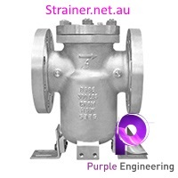 stainless steel simplex strainer, SS simplex basket strainer